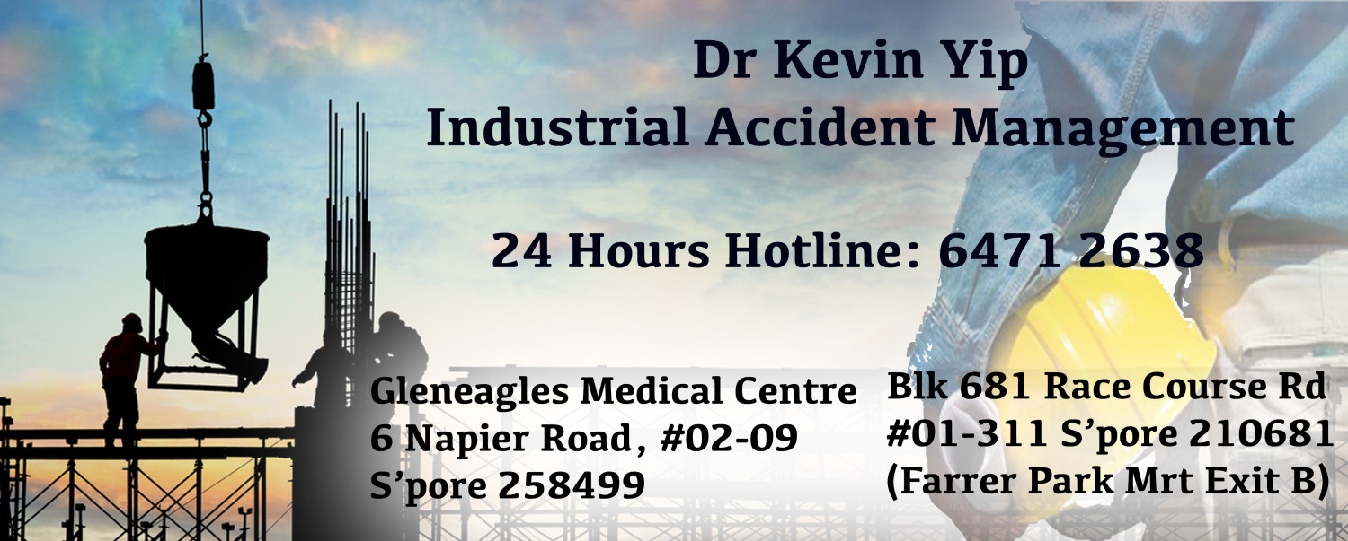 Dr Kevin Yip, Industrial Accident Management